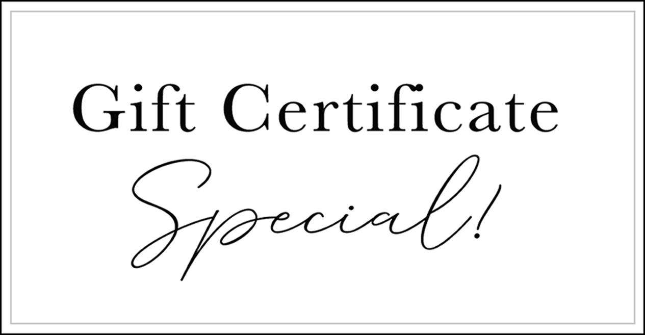 Gift Certificate Special - La Femme Boudoir Photography